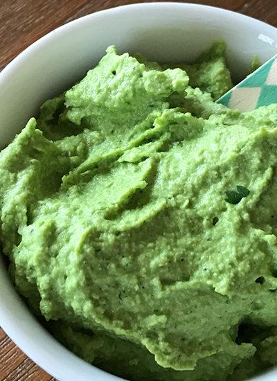 Temptations: Springtime Green Edamame Hummus